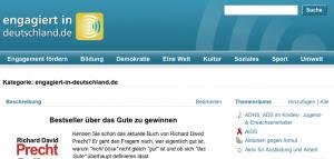Engagiert in Deutschland - Webseite