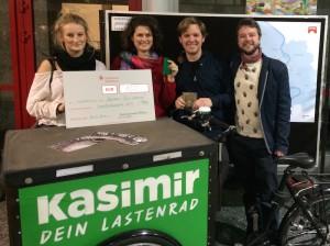 KASIMIR - Dein Lastenrad Umweltschutzpreis der Stadt Köln